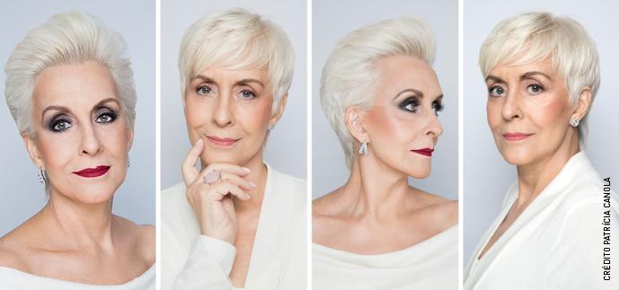Beauty artist, Roosevelt Vanini, destaca métodos e dicas de maquiagem para ressaltar a beleza madura