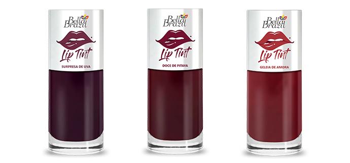 Bella Brazil lança Lip Tints com secagem ultrarrápida