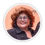 Bete Omori, presidente HCF do Brasil.