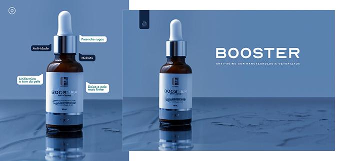 Booster Antiaging promove a regeneração da pele