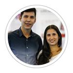 Leonardo Oliveira e Karita Pereira Martins