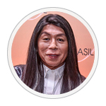 Celso Kamura que vai estampar materiais e corredores da Hair Brasil Premium 2020.