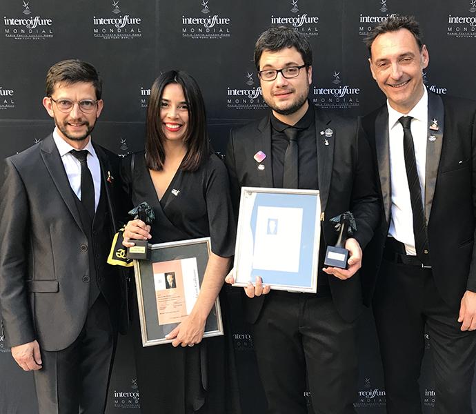Equipe Fundação Guillaume: Oliver Bohn (Presidente), Mari Nicácio e Jesus Romero (Novos Membros Liga) e Bruno Sommer (CEO)