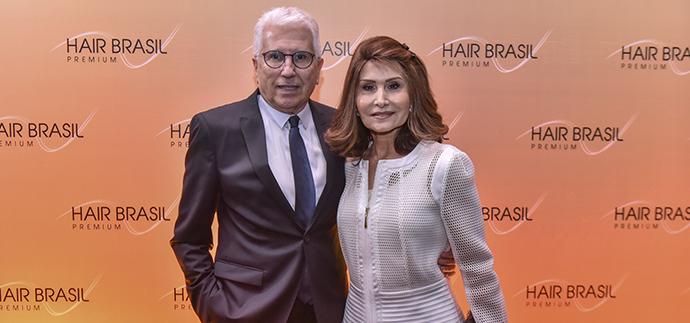 Franciso e Waleska Santos, fundadores e empreendedores da Hair Brasil @hairbrasil