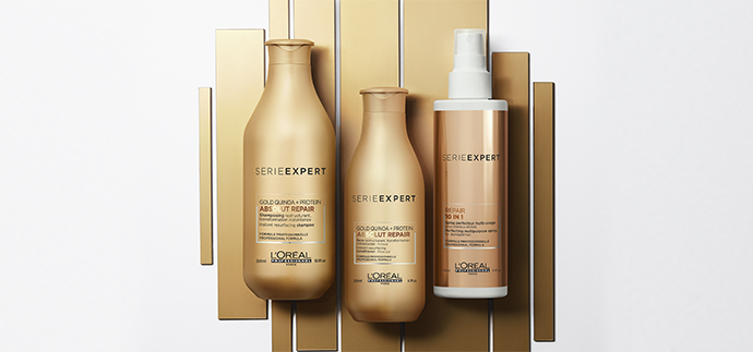 L' Oréal Professional apresenta novo Absolut Repair Gold