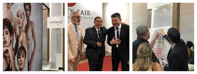 Hair Brasil marca presença na Beauty Fair 2019