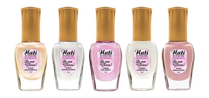 A Nati, marca brasileira de esmaltes,