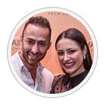 Paulo e Fabiana Kazaks, empresários Sweet Hair.