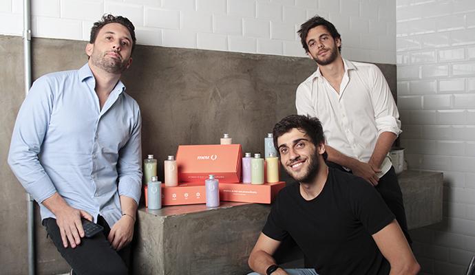 Pedro Nunes, Lucas Barchetta e Dimitri Ribeiro