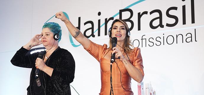 Raquel Guidalli e Sabrina Rodrigues