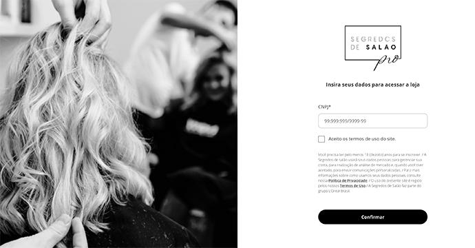 E-commerce - Segredos de Salão abre venda direta para salões e cabeleireiros