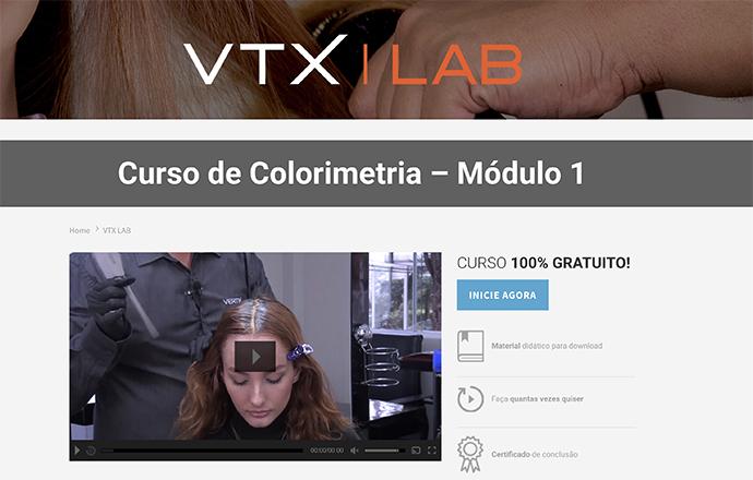 VTX | LAB - Curso online e gratuito de Colorimetria